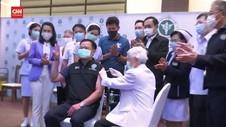 VIDEO: Thailand Mulai Vaksinasi Covid-19 Dengan Sinovac