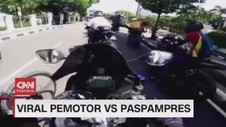 VIDEO: Viral Pemotor Vs Paspampres