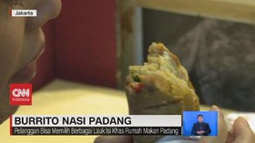 VIDEO: Burrito Nasi Padang