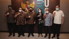 Erick Thohir Reunian Bersama 5 Mantan Menteri BUMN