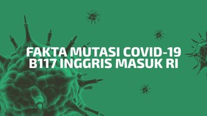 INFOGRAFIS: Fakta Mutasi Covid-19 B117 Inggris Masuk RI