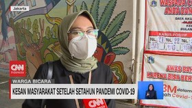 VIDEO: Kesan Masyarakat Setelah Setahun Pandemi Covid-19
