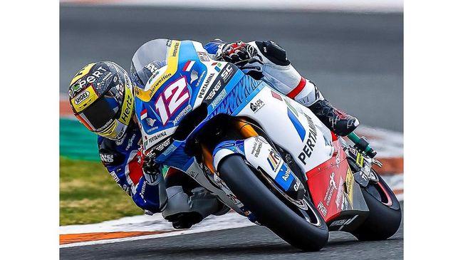 Pembalap Pertamina Mandalika Racing Team yang tampil di Moto2 2021, Bo Bendsneyder dan Thomas Luthi, mengapresiasi dukungan yang diberikan fan Indonesia.