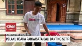 VIDEO: Pelaku Usaha Pariwisata Bali Banting Setir