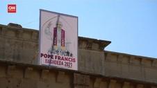 VIDEO: Irak Siap Sambut Kedatangan Paus Fransiskus