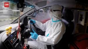 VIDEO: Sopir Ambulans, Penyambung Asa Pasien Covid-19