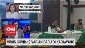 VIDEO: Virus Covid-19 Varian Baru di Karawang
