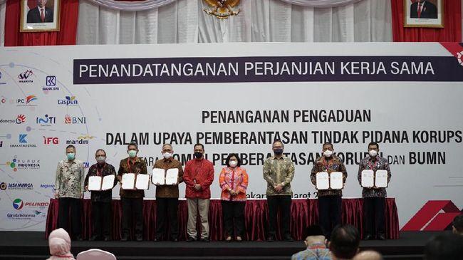 Selain menegakkan prinsip tata kelola yang baik, kolaborasi dengan KPK ini merupakan komitmen kuat IFG untuk mencegah adanya korupsi.