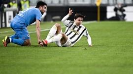 Hasil Liga Italia: Juventus Kalahkan Spezia 3-0