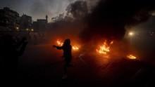 FOTO: Lebanon Membara Imbas Mata Uang Anjlok