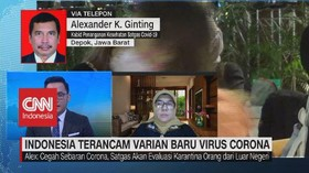 VIDEO: Indonesia Terancam Varian Baru Virus Corona