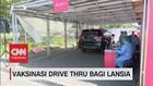 VIDEO: Vaksinasi Drive Thru Bagi Lansia