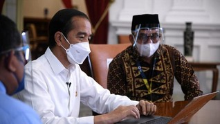 Jokowi Laporkan SPT Tahunan 2020 Secara Daring Hari Ini