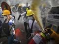 FOTO: Demonstrasi Berdarah Myanmar Tewaskan 38 Orang