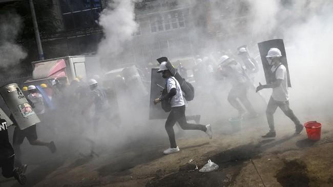 PBB Sebut Protes Anti-Kudeta Myanmar Telan 38 Korban Tewas