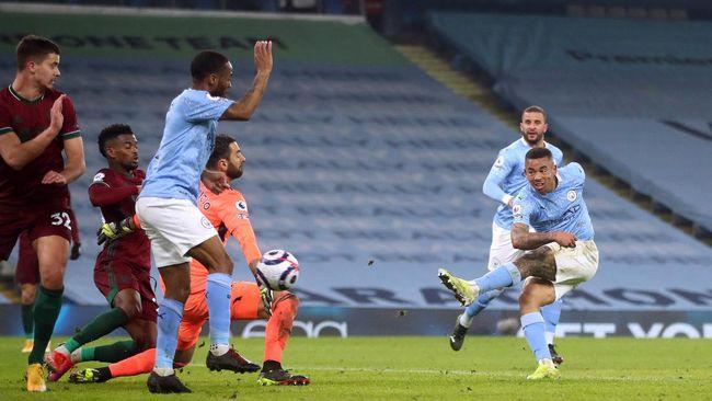 Manchester City vs Wolverhampton Wanderers menghasilkan tiga poin dan rekor-rekor spektakuler bagi The Citizens.