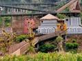 Jalan Kaki Keliling Dunia di The Great Asia Africa Lembang