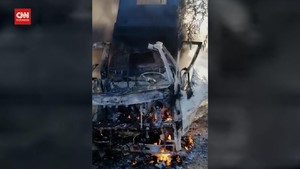 VIDEO: Pangkalan Militer Irak Dihujani 10 Roket