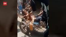 VIDEO: Momen Polisi Myanmar Lepas Tembakan ke Pedemo