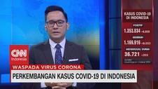VIDEO: Bertambah 6.808 Kasus, Positif Corona Jadi 1.353.834