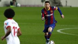 Copa del Rey: Barcelona vs Sevilla Lanjut ke Extra Time