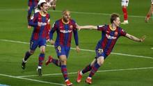 FOTO: Comeback Dramatis Antar Barcelona ke Final Copa del Rey