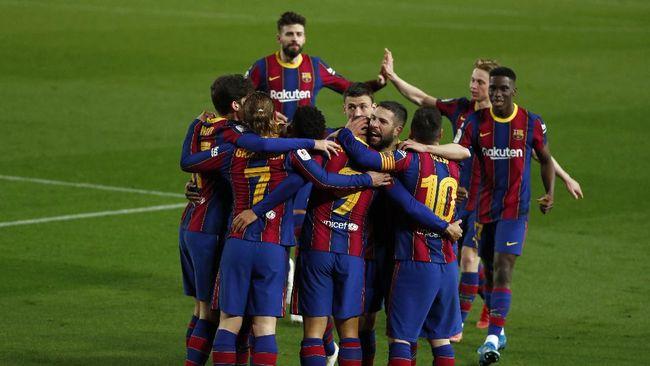 Barcelona berhasil lolos ke final Copa del Rey usai menang 3-0 atas Sevilla dan unggul agregat 3-2 secara keseluruhan.