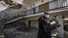 FOTO: Gempa Magnitudo 6,3 Guncang Yunani