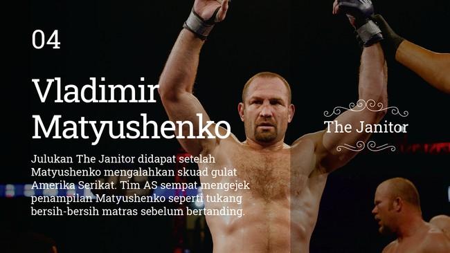 Meski terlihat sangar di atas octagon, tujuh petarung UFC ini memiliki julukan yang lucu dan aneh.