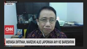 VIDEO: Marzuki Alie Laporkan AHY ke Bareskrim