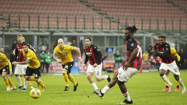 AC Milan musim ini sudah mendapat 16 penalti dan menjadi klub Liga Italia yang paling sering mendapat tendangan 12 pas.