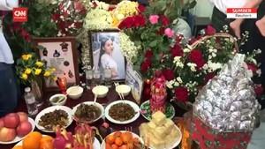VIDEO: Pemakaman Kyal Sin, Gadis Myanmar yang Tewas Tertembak
