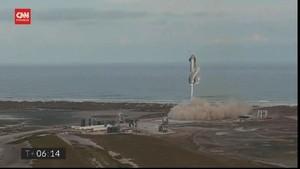 VIDEO: Roket SpaceX Meledak Usai Mendarat di Texas