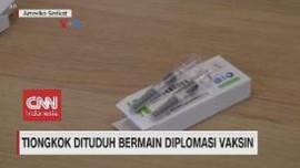 VIDEO: Tiongkok Dituduh Bermain Diplomasi Vaksin