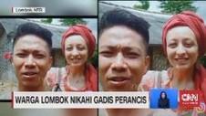 VIDEO: Viral Warga Lombok Nikahi Gadis Cantik Perancis