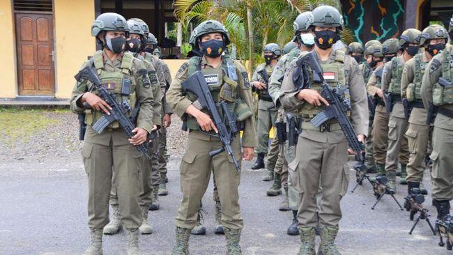 LBH Papua menilai pembentukan Satgas Nemangkawi sering kali berbenturan dengan aturan hukum. Namun polisi membantah hal ini.