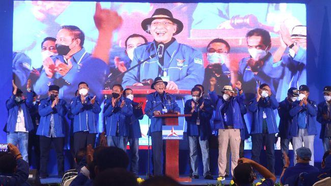 Mencermati kasus Demokrat, Saiful Mujani menyebut untuk pertama kalinya sejarah politik Indonesia mencatat sebuah partai diambilalih oleh orang luar.