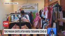 VIDEO: Toko Pakaian Gratis Untuk Warga Terdampak Covid-19