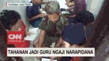 VIDEO: Tahanan Jadi Guru Ngaji Narapidana