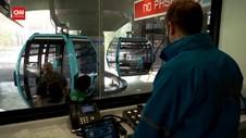 VIDEO: Kereta Gantung Jadi Transportasi Publik Atasi Macet