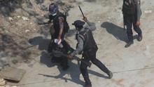 Junta Myanmar Desak Pusara Mengenang Pedemo Tewas Dibongkar