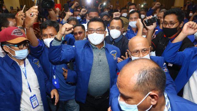 Partai Demokrat KLB yang ditolak pemerintah menarik perhatian sejumlah netizen di dunia maya.