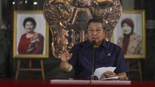 Presiden ke-6 RI SBY mengklaim pengangguran dan kemiskinan berkurang secara drastis di masa akhir kepemimpinannya. Berikut rincian datanya.