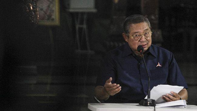 SBY menarik berkas permohonan pendaftaran logo Demokrat di Kemenkumham dan menggantinya dengan permohonan baru.
