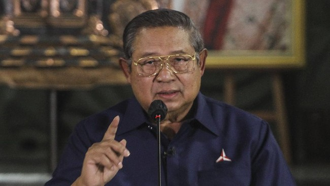 Tim Hukum: SBY Daftar Logo Demokrat Terkait Konflik Internal
