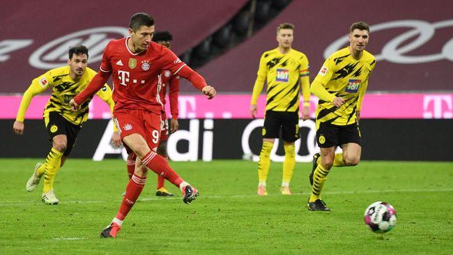 Robert Lewandowski mengalahkan Lionel Messi untuk menjadi pemain tersubur di antara top skor tujuh liga-liga terbesar di Eropa.