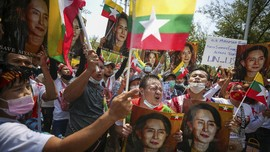 Krisis Kudeta-Covid-19 Dorong Myanmar ke Jurang Kemiskinan