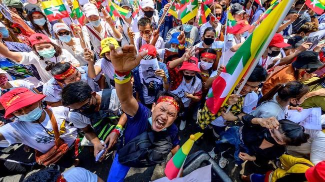 Oposisi Tutup Pintu Negosiasi dengan Junta Militer Myanmar