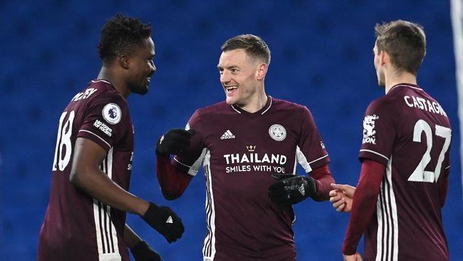 Leicester City meminta maaf kepada Chelsea setelah insiden di ruang ganti pemain usai memenangi Piala FA di Stadion Wembley, Sabtu (15/5).