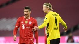 Hasil Bundesliga: Bayern Munchen Tekuk Borussia Dortmund 4-2